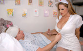 Kelly Madison Nurse Feel Real Good #2 277559 I Am Going To Give You A Nice, Cool, And Relaxing Sponge Bath With My Tongue! First Let Me Lift Up Your Hospital Gown And Check You Out. I Will Put My Gloves On And Gently Stroke Your Cock. Next, I Will Bend Down And Lick It Ever So Gently. I Will Slap...