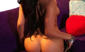 London Keyes Colored Curtains London Keyes Shows Off Her Amazing Natural Tits And Great Ass In This Colorful Fun Set