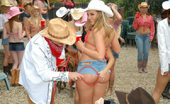 VIP Crew These Hot Cowgirls Are Ridin That Bull Almost As Good As They Ride The Cock In These Hot Pics