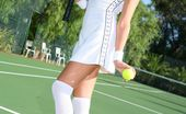 Only All Sites Lucy Anne Lucy Anne Relaxes After Tennis And Strips Out Of Her Kit. (Non Nude)
