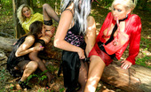 Pissing in Action Gallery th 49977 t Horny Strange Lesbian Babes Enjoy Urinating In The Woods