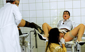 Pissing in Action Ferrara Gomez Urinating Pretty Chicks Inspected By Very Horny Doctors