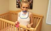 Naughty Diaper Girls Jeanie Marie Crib Time