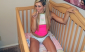 Naughty Diaper Girls Lily Banks Crib Time
