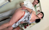 Moms Give Ass Lillian & Lewis Sleazy Mom Hikes Up Her Skirt And Pushes Aside Panties For Anal Penetration