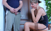 Moms Give Ass Madge & Adam Curious Guy Spying Upon A Fiery Mom With Her Ass Ready For Deep Penetration