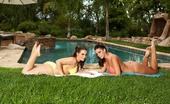 Natasha Nice Lesbian Bikini Sluts Busty Hotties Natasha Nice And Alison Tyler Lick And Finger Each Other Silly Hanging Out By The Pool