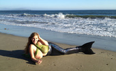 September Carrino DiaryEntry01 September Carrino As A Mermaid On The Beach