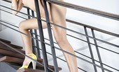 Asian Candy Shop Kai Nee Models On The Stairs