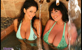 Rachel Aldana String Bikinis - W/ Denise Milani - Set 1 286094 These Incredible Photos Feature Me With Denise Milani, A Super Good Friend Of Mine! She'S Beautiful And Sexy So Be Sure To Check Out This Special Set Of Photos! Xoxoxo -- Rachel