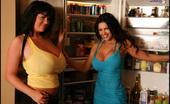 Rachel Aldana Rachel Desert Bikinis With Denise Milani Candids Set2 Rachel Aldana Candid Shots With Denise Milani