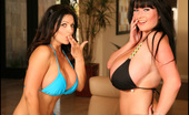 Rachel Aldana Rachel Desert Bikinis With Denise Set1 Rachel Aldana In Bikinis With Denise Milani