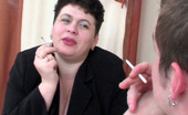 Boys Love Matures Emma & John 287286 Voluptuous Mature Gal Getting Her Fleshy Twat Thrusted With Young Pecker