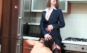 Boys Love Matures Mia & Lewis Well-Endowed Mature Chick Readily Jumping On Ready To Burst Young Pecker
