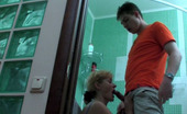 Boys Love Matures Emilia & Arthur Freaky Mommy Itching For The Last Fix Of Male Meat Right In The Bathroom