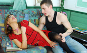 Boys Love Matures Helena & Paul Sex-Crazy Mature Chick And Well-Hung Guy Results In Her Open Meaty Beaver