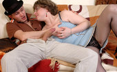 Boys Love Matures Victoria Chubby Mom Tongue-Tickles A Meaty Pole Making It Ready For Deep Penetration