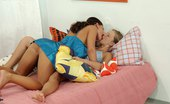 Sapphic Erotica Andrea And Maria1 Watch First Time Lesbian Teens Breathtaking Bedroom Romp