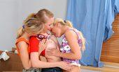 Sapphic Erotica Daniela Judit And Rene Watch Sweet Lesbian Teenie Threesome Enjoy Huge Vibrator