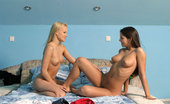 Sapphic Erotica Daphne And Jo10 Gorgeous Little Virgins First Time Finger, Taste And Tease