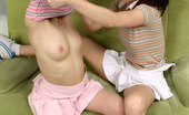 Sapphic Erotica Melodie And Tracy3 Watch First Time Teens Lick N Grind Their Tight Pink Pussies