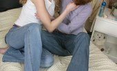 Sapphic Erotica Madison P And Autumn Tender Girls Explore Firsttime Love In Sensual Sixtyniner