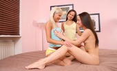 Sapphic Erotica Irene Nella And Nichol6 Three Adorable Teens Lap And Rub Pussies In Bedroom Orgy