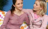 Sapphic Erotica Maddi And Rene22 Fresh Faced Teens Strip Tongue And Dildo Tender Pussies