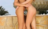 Sapphic Erotica Beatrice And Klaudia2 Dazzling Teens Undress Lick And Finger Twats By Fountain