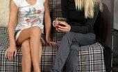 Sapphic Erotica Masha And Nichol0 Angelic Teens Lovingly Kiss And Finger Fresh Quims Indoors