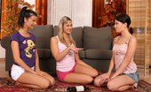 Sapphic Erotica Megan Tarra And Jess4 Three Enticing Teens Undress And Pleasure Pussies And Butts