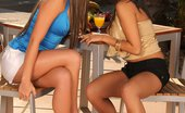Sapphic Erotica Sublime beauties lap twats and butts outside Sascha And Natali6 Sublime Tonguers