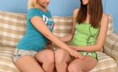 Sapphic Erotica Deana & Dalia Cunnilingus Cuties Deena And Dalia Exploring Their Intimate Lesbian Desires
