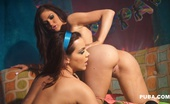 Kendall Karson 70'S Lesbian Fuck Busty Kendall Brings In Super Hot Busty Natasha Nice So They Can Recreate Some 70'S Free Love In This Hot Girl/Girl Scene