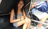 Trike Patrol Mishelle - Set 1 - Photo Friendly Filipina Welcomes Tourist With Sexy Striptease