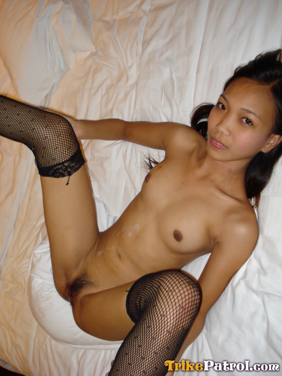 Halfjapanese filipina gets fucked and facecreamed by white 2