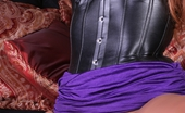 Ember Reigns Ember Black Corset And Dildo