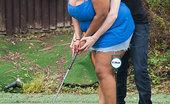 BBW Pickup Hot Black BBW Seduced Golf Coach