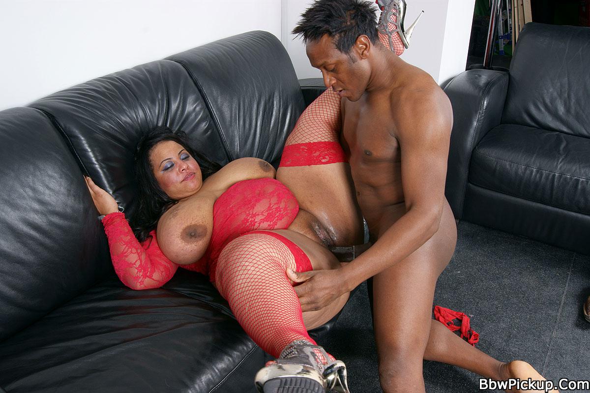 Ebony pickup porn