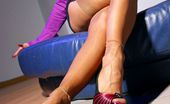 Lily Wow Leggy MILF Whore In Hot Vintage Stockings