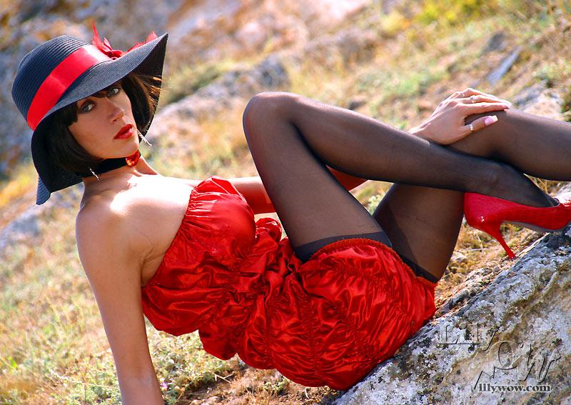 Seksuele glamour met de latina Samia Duarte