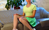 Lily Wow Classic White Stockings On The Sexiest MILF Legs