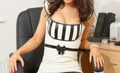 Latex Heaven Lana Black White New