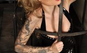 Latex Heaven Becky Holt Trans Black Catsuit