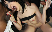 Interracial Blow Bang Dylan Ryan 9 Feet Of Black Cock Get Inhaled By Eager White Whore