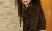 Kaira 18 Sexy In Brown 299882 Cute 18yo Teen Kaira Fooling Around In Her Bedroom