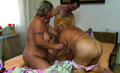 Old Nanny Hot Wild Grannies In Threesome Action