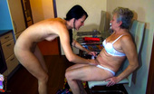 Old Nanny Old Grandma Getting Horny In Swimming Pool