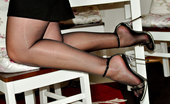 Pantyhose Angel Black And Transparent