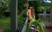 Girls Out West Page Returns In Her New House, She Sits On The Balcony, Wearing A Sexy Little Outfit With Matching Bra And Panties. Her Big Pink Toy Slides Into Her Pussy, Making Her Hot Under The Collar, And Aching To Cum.